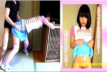 【美少女】女子中学生みたい!可愛い美少女がアナルファック!