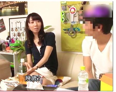 【人妻ナンパ】熟女を部屋に!口のうまいナンパ師が口説いています!