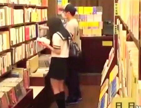 【jk】文学少女!本屋で痴漢に強姦レイプ!