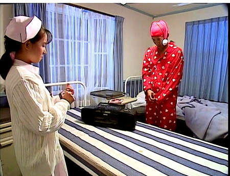 【ヘンリー塚本】星野ひかる!美人すぎる看護婦が手コキ!