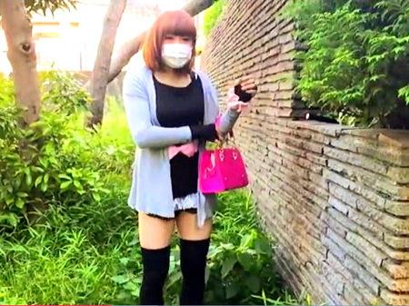【ニューハーフ】男の娘!レベルの高い女装子を尾行して撮影を手伝う!