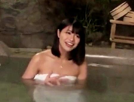 【風呂】モニタリング!温泉で彼女をナンパ師に寝取らせる!