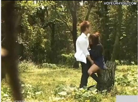 制服の素人女性の盗撮無料主観動画。盗撮制服娘のオマンコに指入れ!公園盗撮動画です!