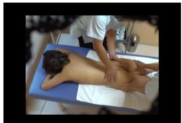 [盗撮]レズビアンしかいないエステは全裸が当然セクシュアルハラスメント!マッサージ盗撮動画です。