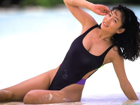細川ふみえさん水着05