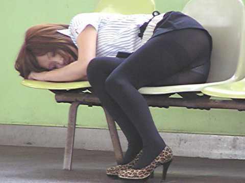 泥酔女09