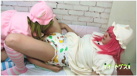 Mindlessly Diapered+ABDL+オムツ+お漏らし