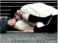 【盗撮+公園+青姦】盗撮 10代の生殖器たち!これはやばい学校帰りのアウロリJKと彼氏。公園でチンポコを挿入してしまいます。