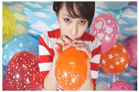 [盗撮]ういかちゃんが風船を使って楽しい遊び!風船バルーン動画です。