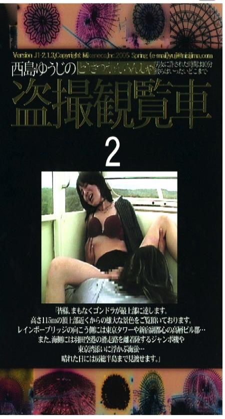 【青姦】エロすぎる観覧車!カップルがおチンチンをフェラチオ!青姦動画です!