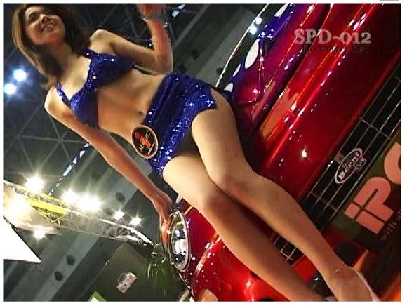 【キャンギャル+レースクイーン+盗撮】ザ・コンパニオン01!東京オートサロンのレースクイーンの股間やオッパイを狙い撃ちです、