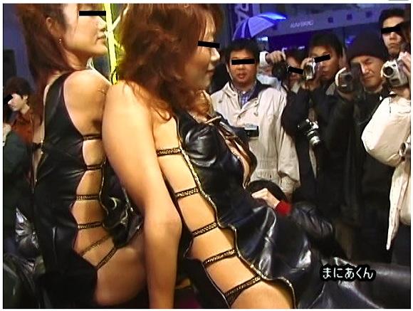 【キャンギャル+レースクイーン+盗撮】まにあくんの激レアポロリ・チラリ映像集 VOL.1!これは危険なRQの乳首や股間です。