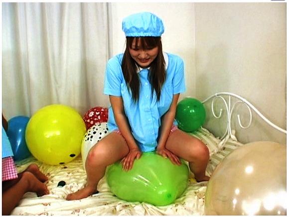 【風船+バルーン+ロリータ】これはやばい」風船が好きな可愛いロリータ美少女!園児服と私服で遊びます【美少女+フェチ】『ラブ☆ラブ~ふうせん♪~ Vol.21』