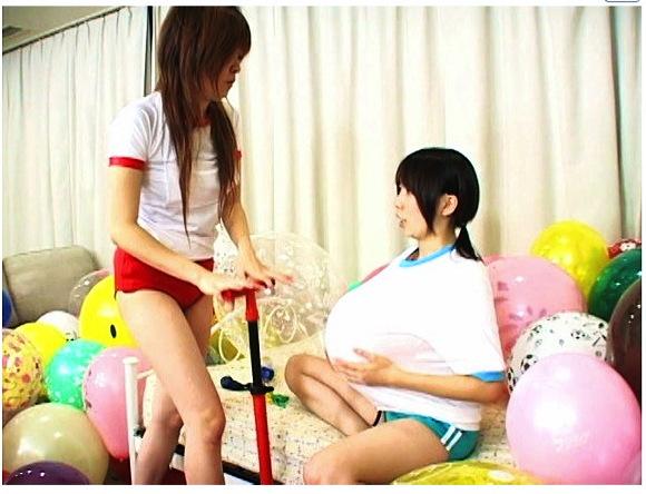 【風船+バルーン+ロリータ】これはやばい体操服とスクール水着!可愛いロリータ美少女たちが遊びます【美少女+フェチ】『ラブ☆ラブ~ふうせん♪~ Vol.23』