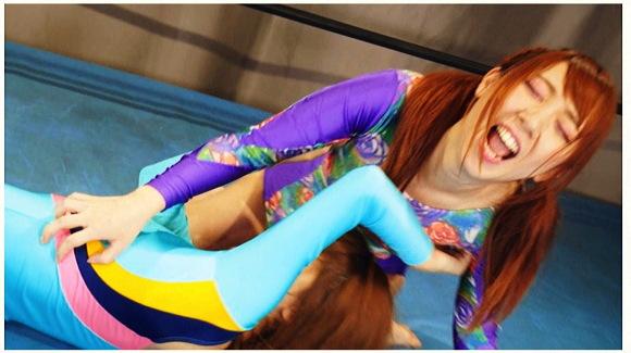 『こちょこちょくすぐりファイト!! 2』【キャットファイト+女子プロレス+レオタード+水着+フェティッシュワールド+サンプル動画+画像10枚】