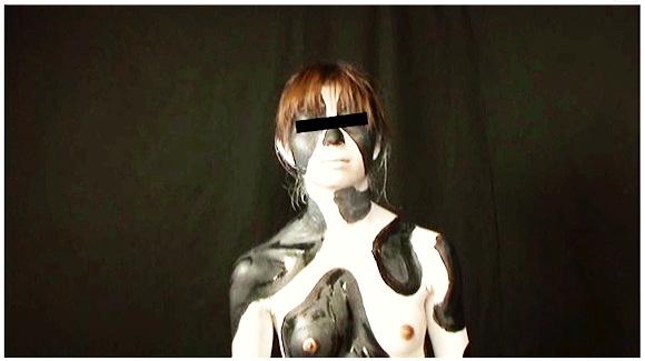 『Animal painting001』【牛+ホルスタイン+白+黒+碇けいいち+ココアソフトCOCOA SOFT】
