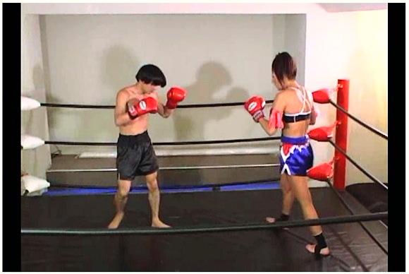 闘人18 美人キックボクサー正木純子