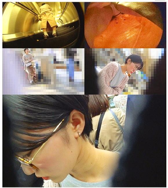 痴漢+電車チカン+自宅盗撮+睡眠姦+蜃気楼