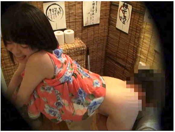 トイレ+セックス+泥酔