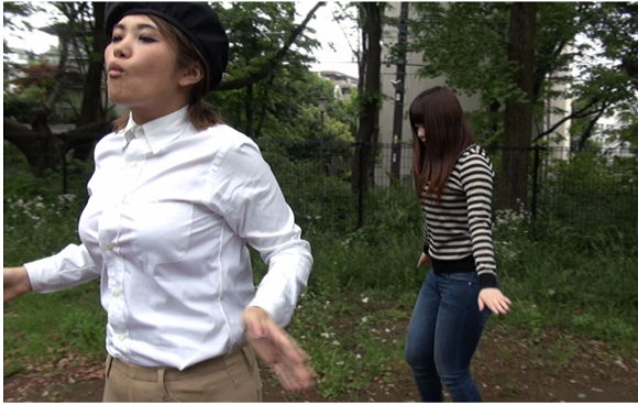 街角ゲリラ催眠2 ~木洩れ日の催眠誘導~