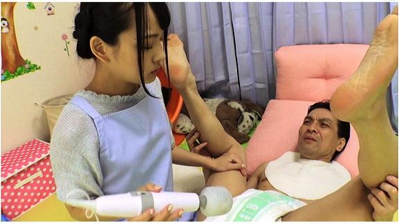 大人の託児所 保育士あべみかこが赤ちゃんプレイに神対応サムネイル16
