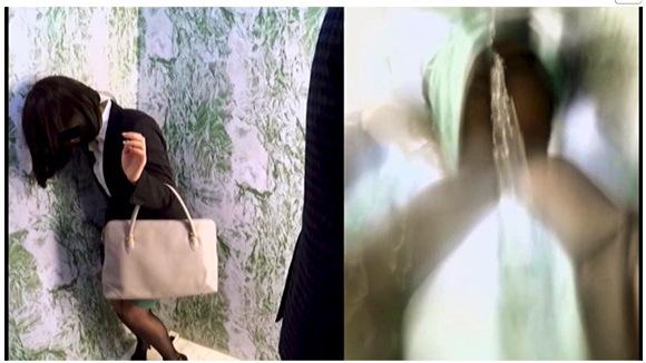 『止まるエレベーター おしっこ我慢パニック』【女排泄一門会+画像10枚】