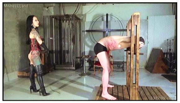 『完璧なる人間便器とアナル覚醒』【ミストレスランド+生涯奴隷+マゾ男+舌奉仕イス+強制飲尿】