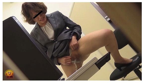 【オナラ】『OL非常識放屁放尿』【EVO+OL+隠撮小便】