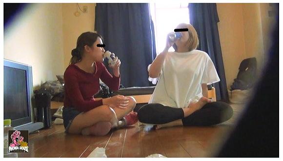 盗撮酔っぱらい女 民家侵入激嘔吐記録