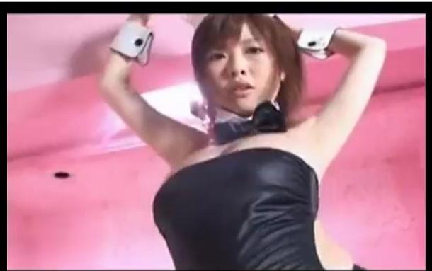 巨乳のバニーガールの無料おっぱい動画。[爆乳]浜崎リオさんのデカパイのバニーガールです!コスプレ巨乳動画です!
